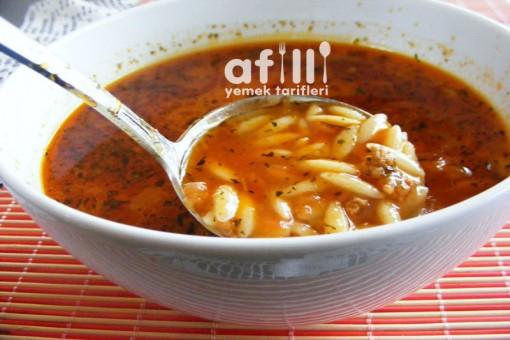 Şehriye Çorbası Tarifi